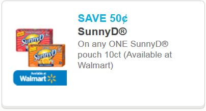 sunny d pouch