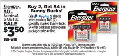 aa and aaa battery coupons