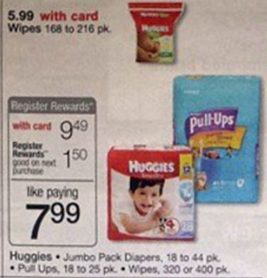 Huggies and pulls ups wags 11-30