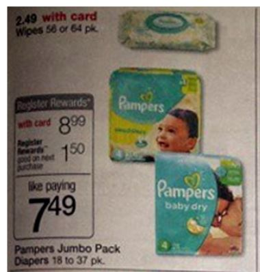 Pampers wags 11-30