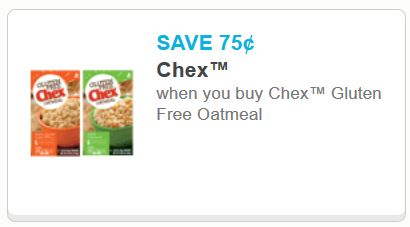 chex gluten free oatmeal