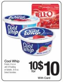cool whip and jello kroger new