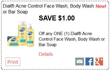 dial acne wash new