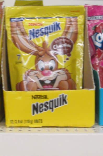 nesquick dollar tree