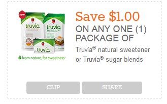 truvia new save