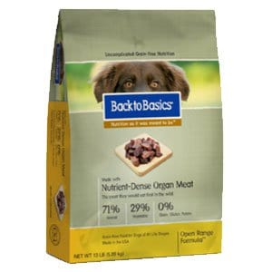 Back to Basics Dog Food Printable Coupon