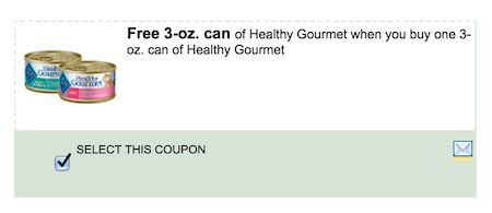 Blue Healthy Gourmet Cat Food