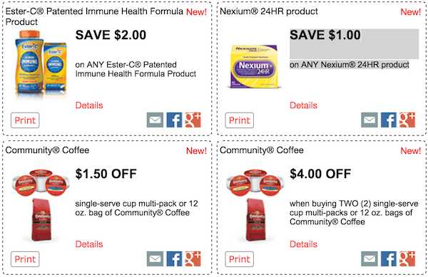 graphic regarding Nexium Printable Coupon referred to as 4 Contemporary RedPlum Printable Discount codes for December 14 - Neighborhood