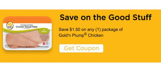 GoldN Plump Chicken Coupon