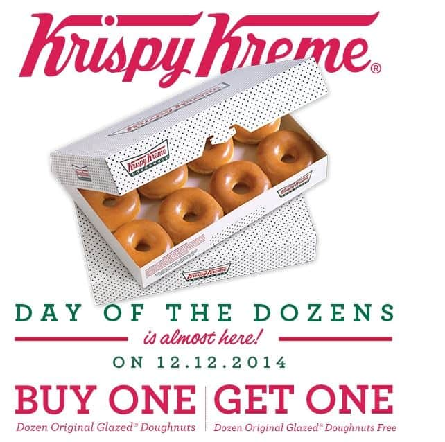 image relating to Krispy Kreme Printable Coupons identified as Krispy Kreme: Invest in A person Dozen Primary Glazed Donuts and Choose