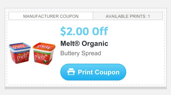 photo relating to Organic Coupons Printable identified as Soften Natural and organic Buttery Distribute Simply just $0.39 At Comprehensive Food stuff With