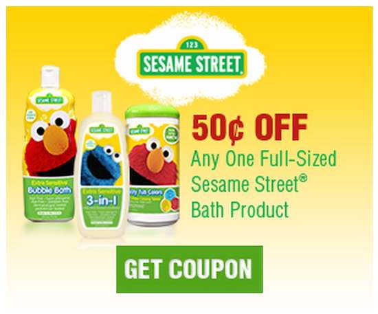 Sesame Street Bath Coupon