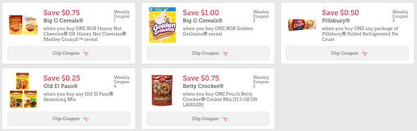 Betty Crocker Coupons