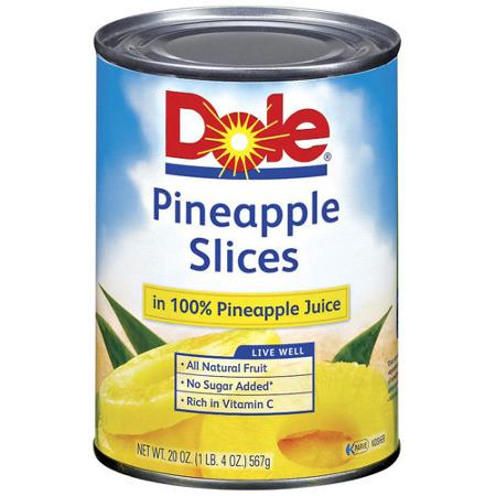 Dole Canned Fruit