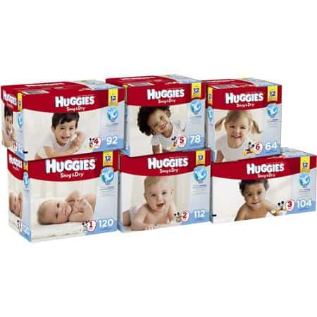 Huggies Diapers Super Pack