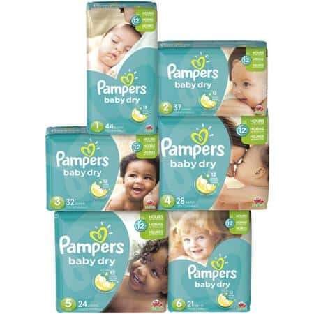 Pampers Diapers Baby Dry