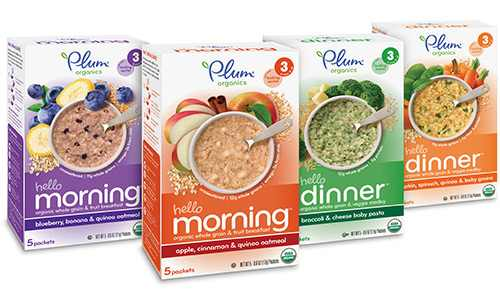 Plum Organics Hello Morning Hello Dinner