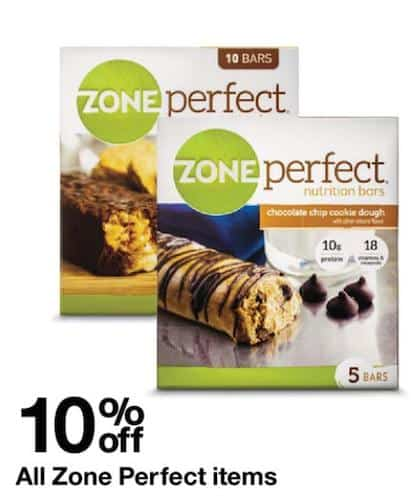 Here's Our Zone Diet coupon to Get 20% OFF your purchase of Sweet & Salty Nut Crunch zone bars It's definitely possible to have energy all day long while going for a low-calorie diet! You simply need to rely on the Sweet & Salty Nut Crunch zone bars available at Zone Diet.