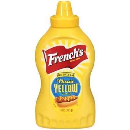 French's Classic Yellow Mustard Printable Coupon