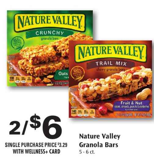 Nature valley printable coupons
