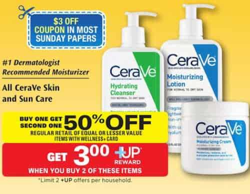picture about Cerave Printable Coupon identify $3.00 Off Any CeraVe Products Printable Coupon In addition Ceremony Assistance