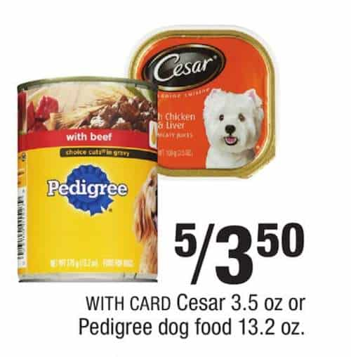 image about Caesars Dog Food Printable Coupons known as Printable discount codes cesar puppy meals : Out of doors playhouse discounts