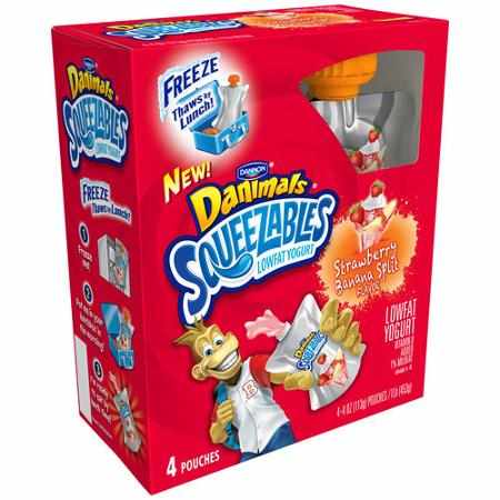 Danimals Squeezables Printable Coupon