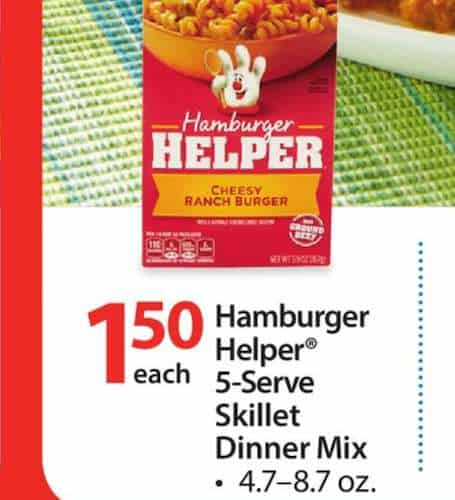 Helper Skillet Printable Coupon