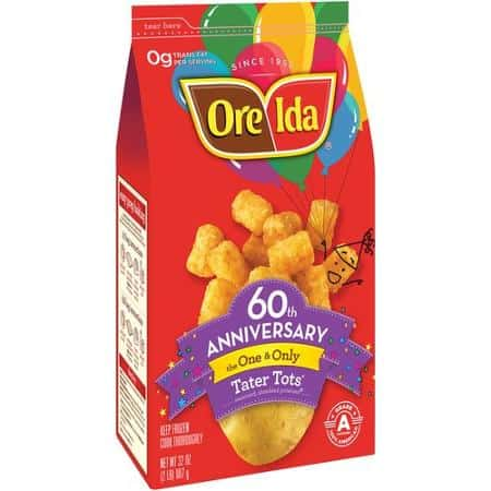 Ore Ida Frozen Potato Products Printable Coupon