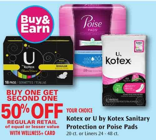 Poise coupons print