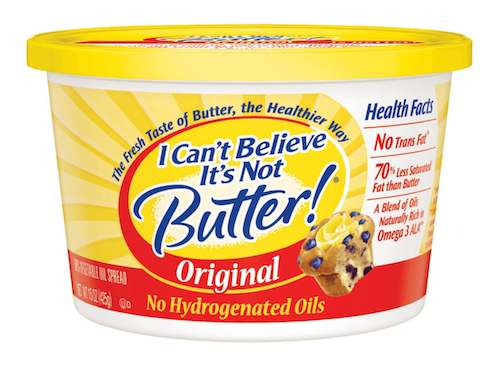 I Can't Believe It's Not Butter