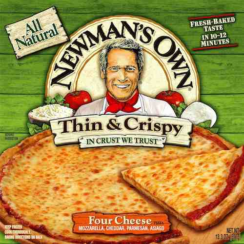 NEWMAN:S OWN PIZZA