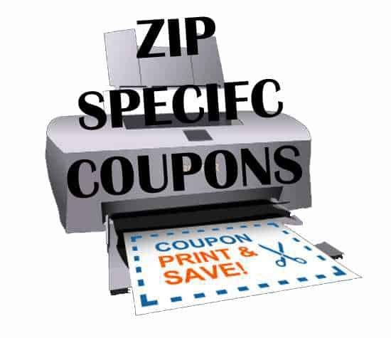 zipcode coupons