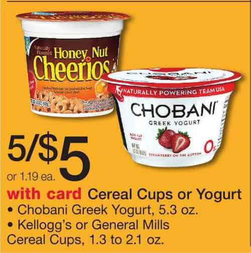 Greek yogurt coupons chobani