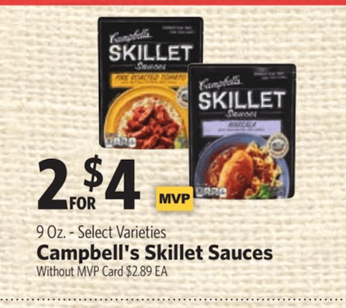 Campbells Cooking Sauce