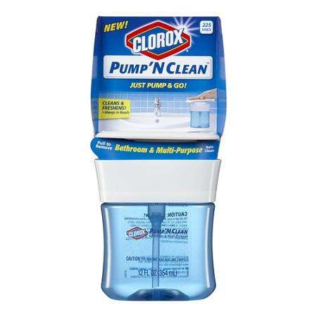 Clorox Pump 'N Clean Printable Coupon