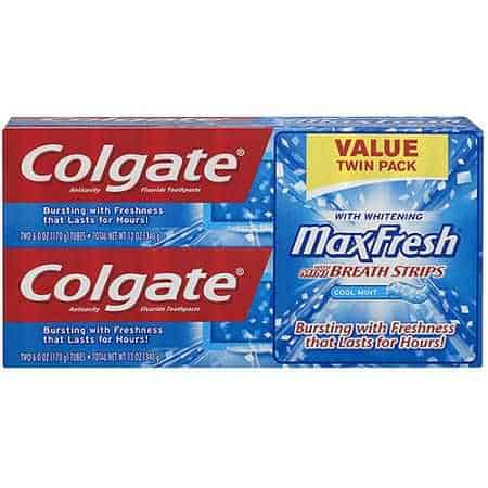 Colgate Max Fresh Twin Pack Printable Coupon