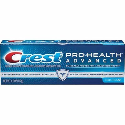Crest Pro Health Advanced Toothpaste Printable Coupon