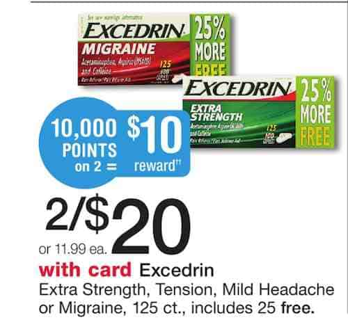 Excedrin Printable Coupon