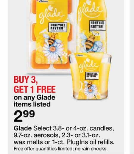 image relating to Glade Printable Coupons named Glade Wax Melts 6ct. Refill Printable Coupon - Printable