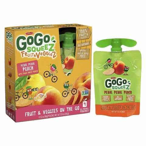 GoGo squeeZ Fruit & VeggieZ Item Printable Coupon