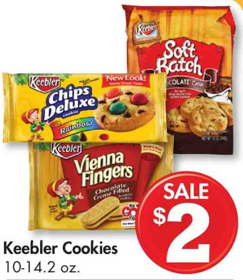 photograph relating to Family Dollar Printable Coupons titled $1.00 off any 2 Keebler® Cookies Printable Coupon In addition