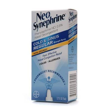 Neo-Synephrine Printable Coupon