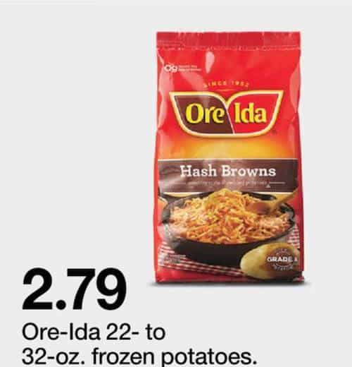 Ore-Ida Frozen Products Printable Coupon