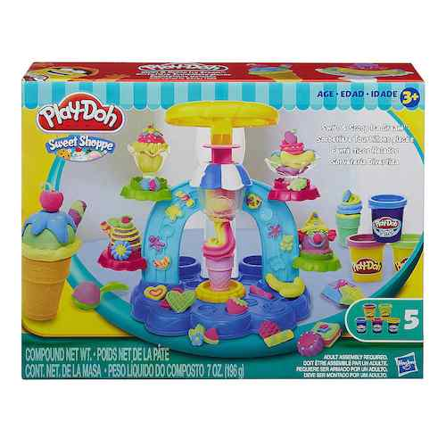 Play-doh Swirl and Scoop Playset