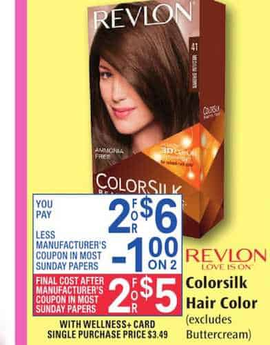 photograph about Revlon Printable Coupon called Order Revlon Colorsilk hair coloration Just $2.50 When Reset
