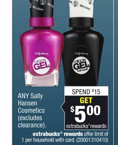 Sally Hansen CVS