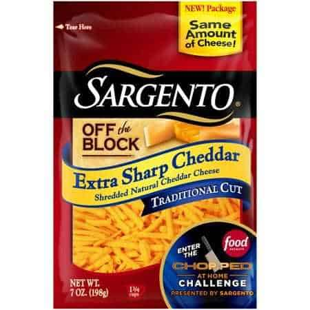 Sargento Shredded Cheese Printable Coupon