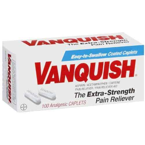Vanquish Pain Reliever Printable Coupon