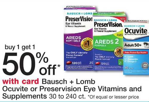 coupons bausch lomb